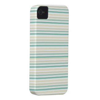 Aqua Blue Striped iPhone Case casemate_case