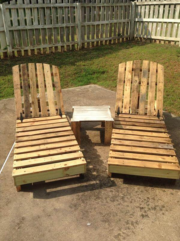 DIY Recycled Pallet Lounge Chair | Pallet Furniture DIY