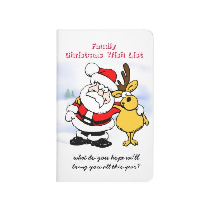 Santa and Reindeer Buddy with Snowman Journals