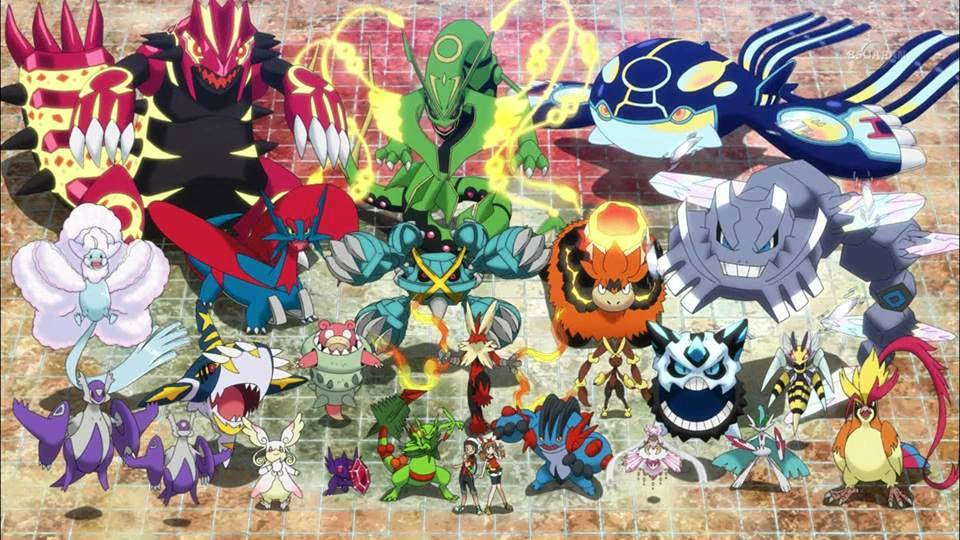 Pokémon ORAS Mega evolutions  Pokémon Photo 37831691