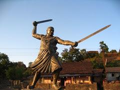 Baji Prabhu Deshpande Statue in Panhala Fort