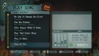 Hardest Guitar Hero 1 Songs