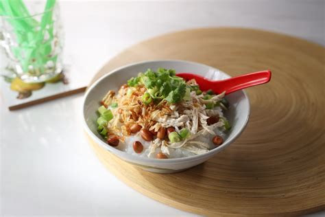 bubur ayam indonesian chicken porridge tiger
