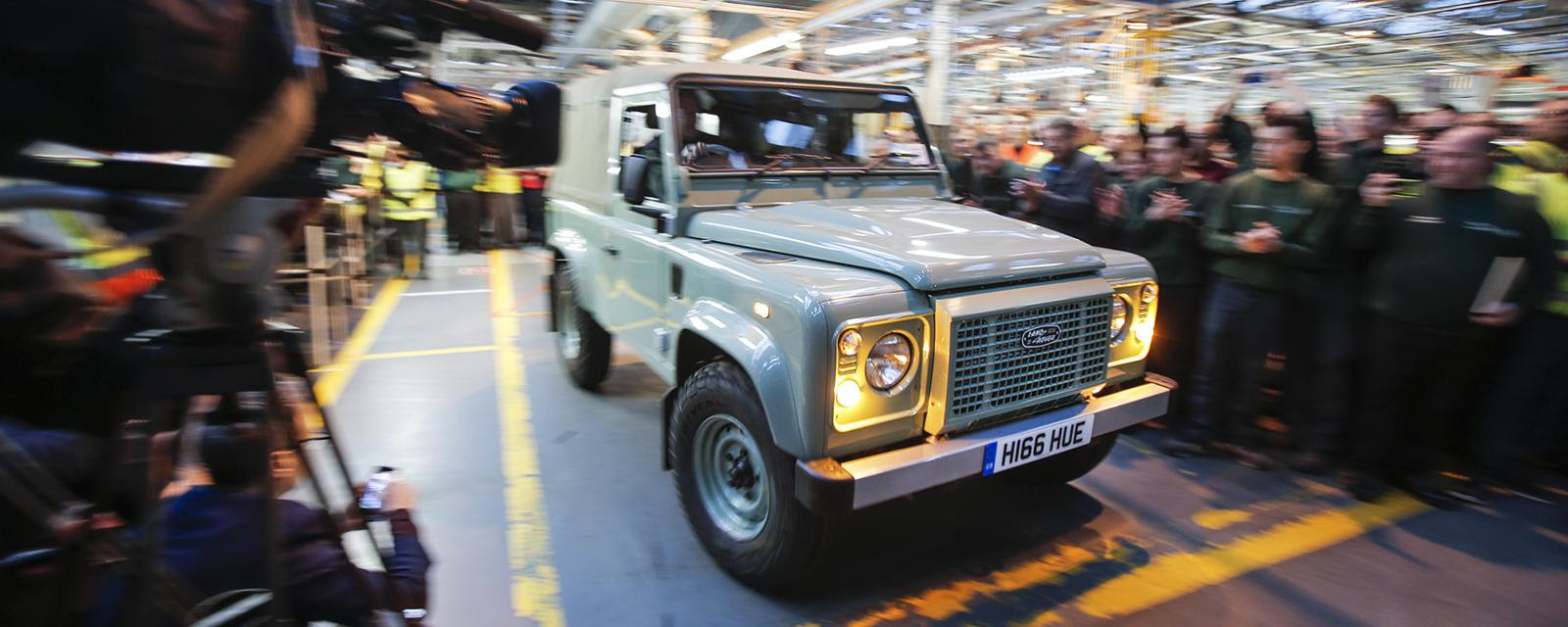 The last Land Rover Defender, 29 January 2016