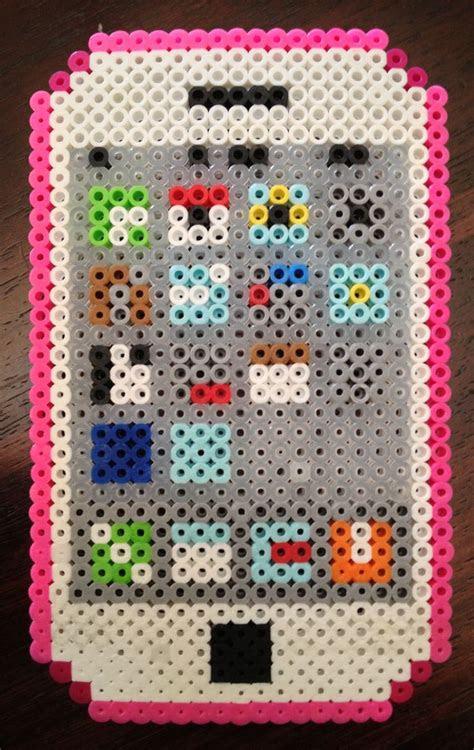 iphone easy design perler beads pearler beads