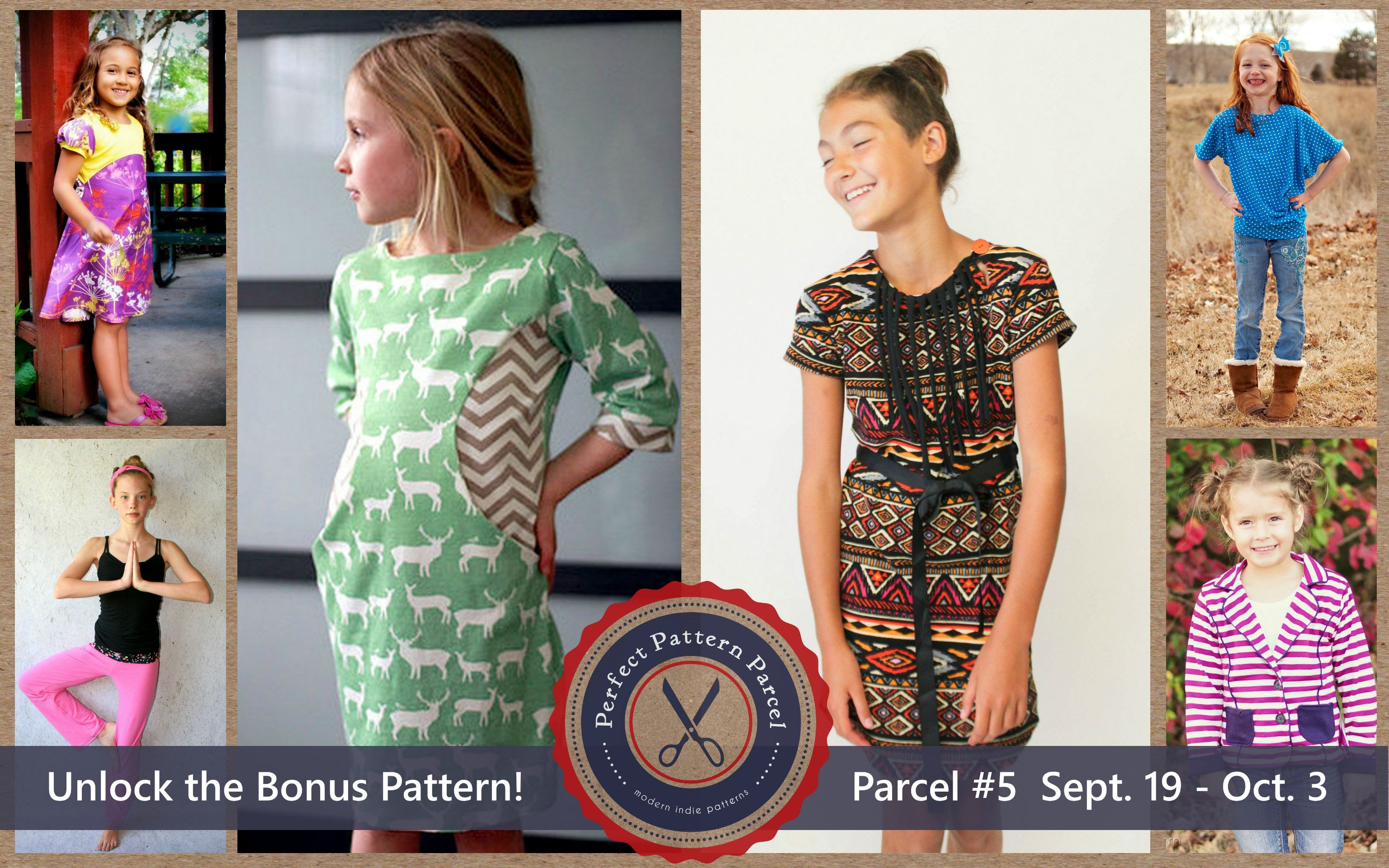 Pattern Parcel #5: Choose your own price and support DonorsChoose. Win/win