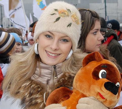 2- Beleza Russa - Olhos cor das tundras