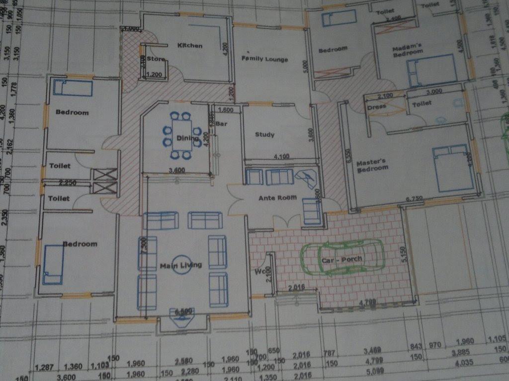 6 Bedroom House Plans In Nigeria Mangaziez