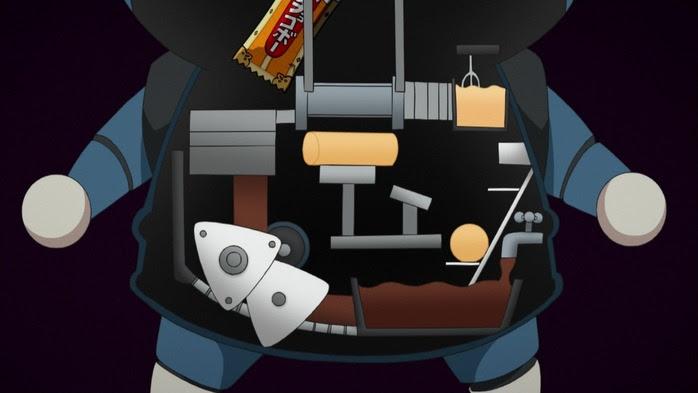 ロボニャンの中身はチョコボーを生み出せる機械になっている 妖怪