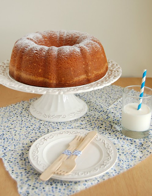 Elvis Presley's favorite pound cake / O bolo favorito do Elvis