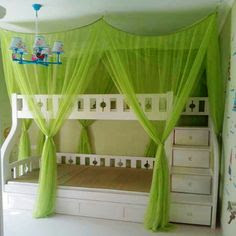 Bunk Bed Canopies on Pinterest