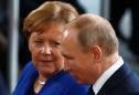 Putin tells Merkel external intervention in Belarus would be unacceptable
