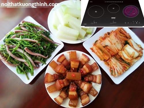 Bếp điện từ nổi bật những tính năng ưu Việt
