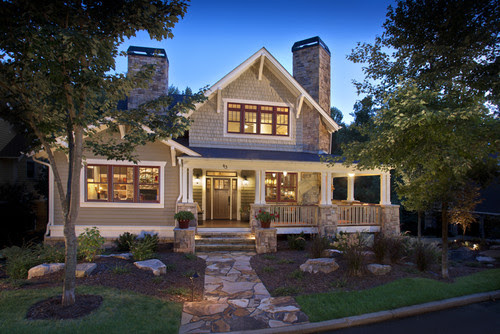 House Envy – Craftsman Style Homes – THE BLISSFUL BEE