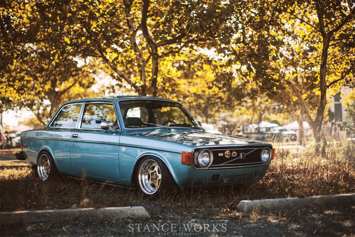 Volvo Wagon Stance