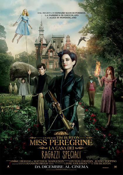 miss peregrine - La casa dei ragazzi speciali, recensione