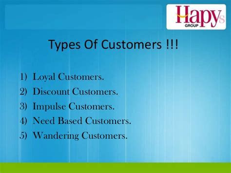 Team samrat singh types of customers