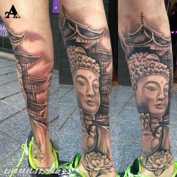 Tatuajes Buda Flor De Loto Tatuajes