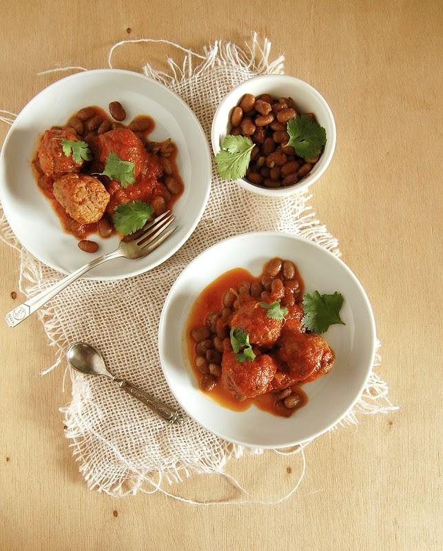 Chilli con carne meatballs / Almôndegas chilli con carne