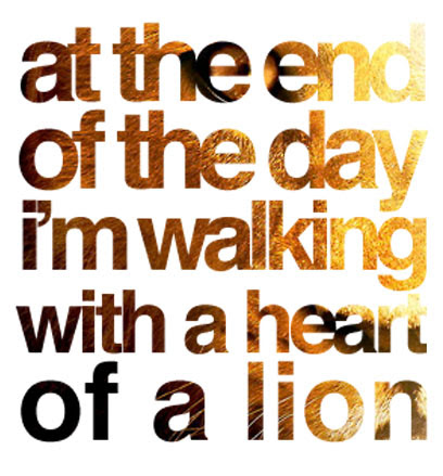 Quotes About Lion Heart 33 Quotes