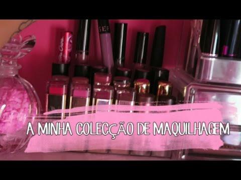 Video - A minha Colecção de Maquilhagem