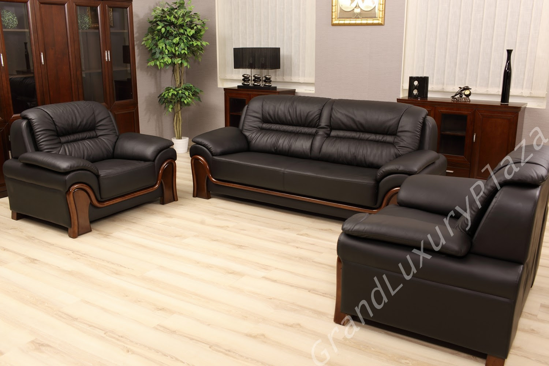 Sofagarnituren, Sofa, Couch, Sessel, Wohnzimmer, Leder ...