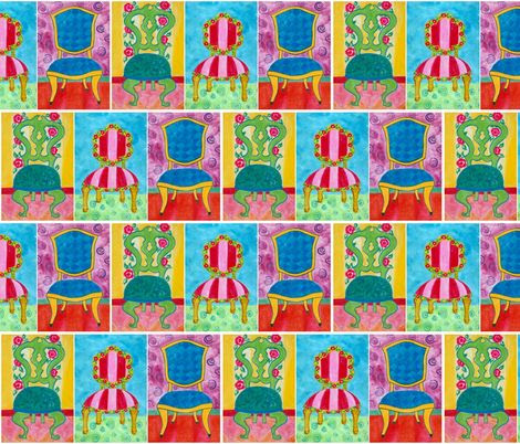 Sit Down! ~ Custom Fabrics by Suzanne MacCrone Rogers via Spoonflower