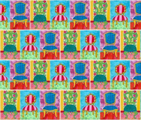 Sit Down! ~ Custom Fabrics by Suzanne MacCrone Rogers via Spoonflower