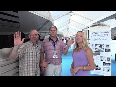 The Fit RV videos: What's New at Pleasure-Way, Winnebago Fuse Review, Angry RV Names, & Coachmen Galleria Review