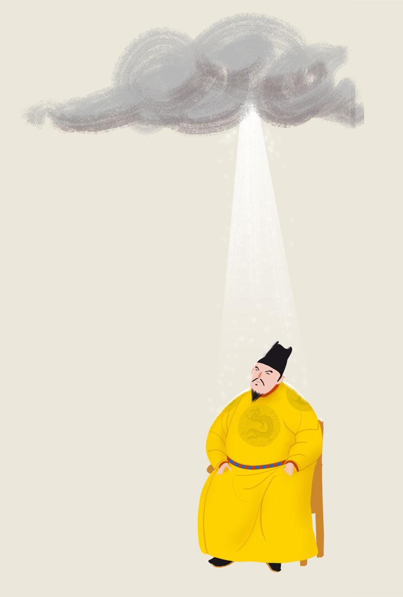 Ilustración de Xavier Sepúlveda
