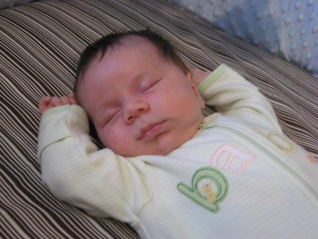 sleepin' like a baby