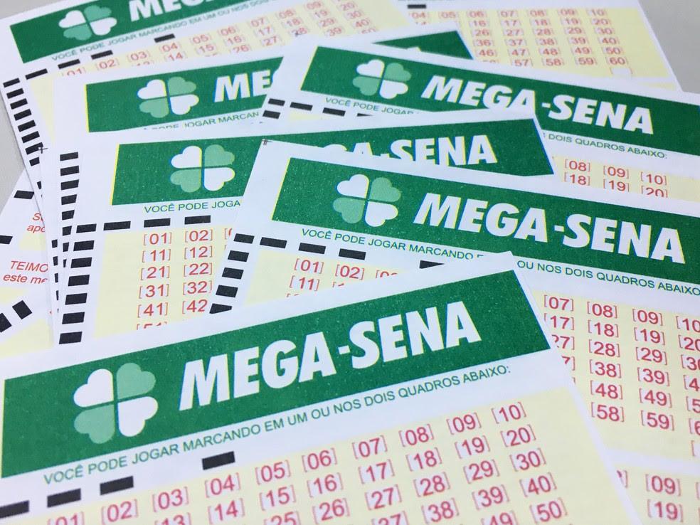 Mega-Sena acumulou neste sábado (24) (Foto: Heloise Hamada/G1)
