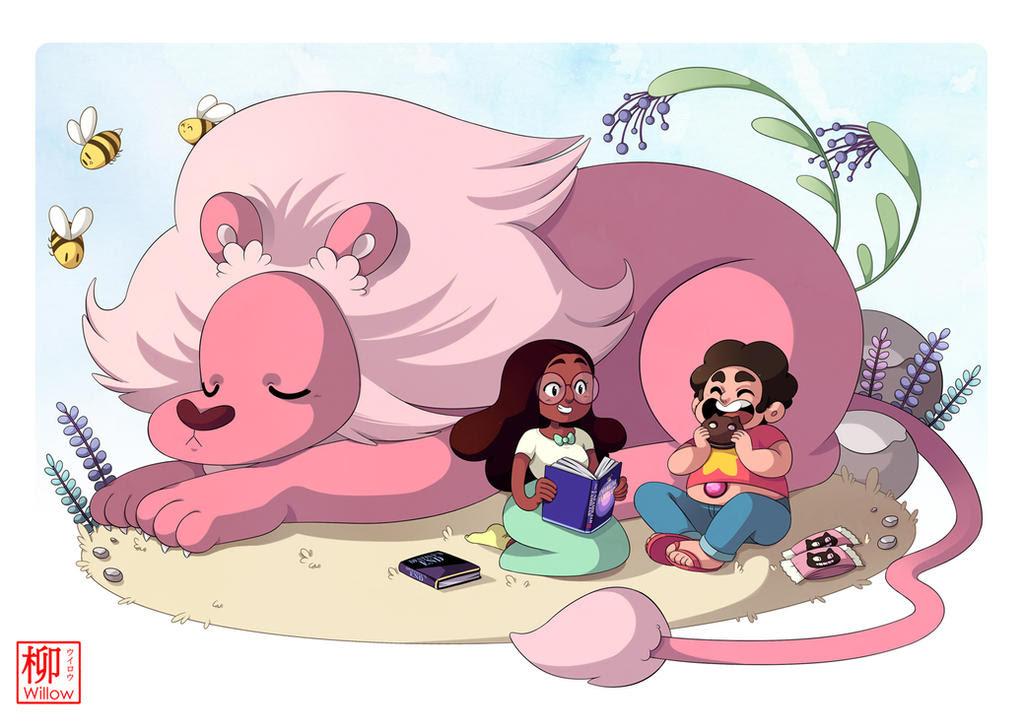 [FR] Pour se changer les idées, un petit fanart de Steven Universe ! Cette série est vraiment sympa Pas de spoil par contre, j'en suis qu'à la saison 2 [ENG] A Steven Universe fanart...