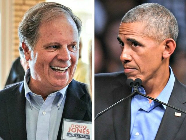 Doug Jones - Obama Split