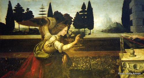 Leonardo: Annunciation