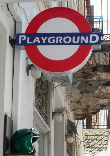 Playground Roundel in Neopoli - spotted by Anne