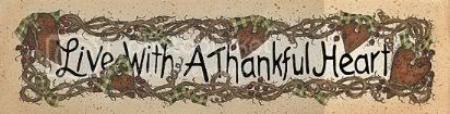 primitive thankful heart Pictures, Images and Photos