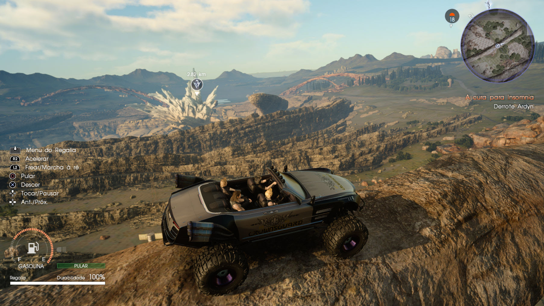 Final Fantasy XV patch brings off-roading at last screenshot
