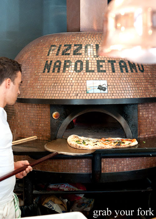 wood-fired oven at via napoli lane cove