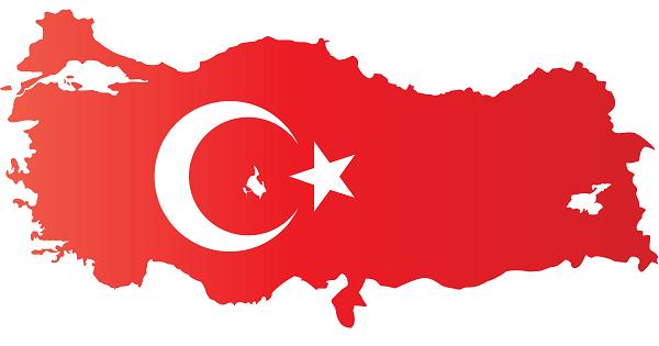 Ay Yıldızlı Türkiye Haritası şablonu Png Formatında Meb Ders