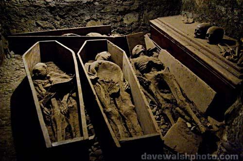 St. Michan's Church and mummies, Dublin Ireland