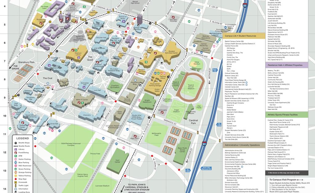 Belknap Campus Map Zip Code Map