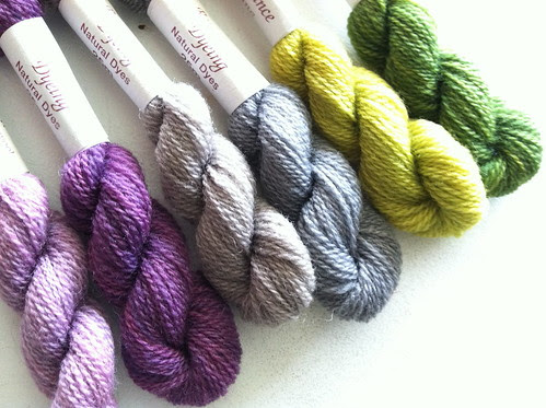 Very soft, hand-dyed, French Crewel Thread