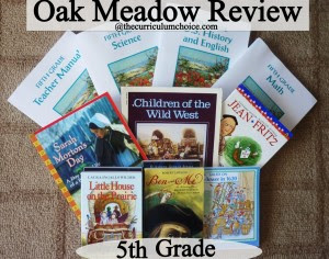 Oak Meadow Review - Complete Fifth Grade Package www.thecurriculumchoice.com