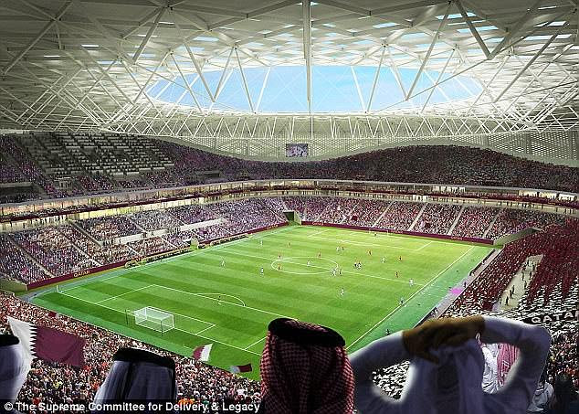The stadium will have a 40,000 capacity but will reduce to 20,000 after the tournament