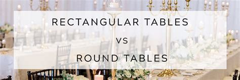 Rectangular Tables vs. Round Tables   East Lansing