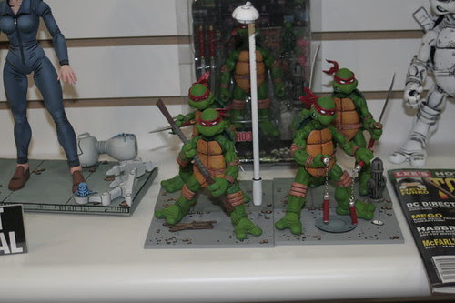 NECA's TMNT ..   GROUP ..// U.S. Toy Fair 2008    [[ Courtesy Action-Figure.com ]]