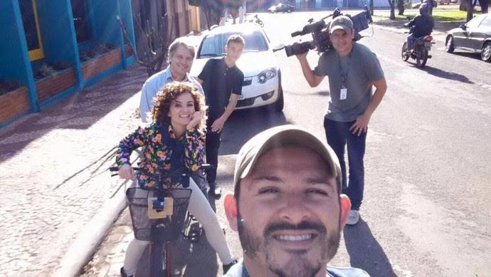 Vem com a gente! (Foto: Divulgação/RPC)
