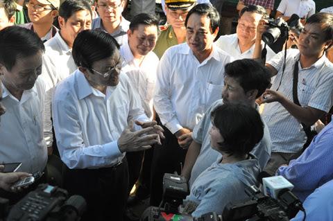 chủ tịch nước, Đà Nẵng, ngư dân, kiểm ngư, chủ quyền, giàn khoan, TQ, Hoàng Sa, Biển Đông