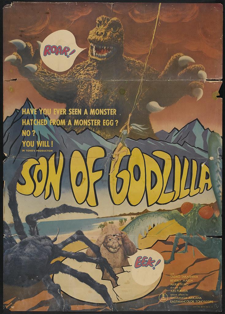 Son of Godzilla (Toho, 1967)